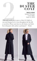 PAULA RYAN Belted Pinstripe Coat - Paula Ryan Fashion Collection - [product type] - Magpie Style