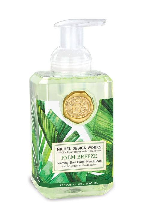 MICHEL DESIGN WORKS Foaming Hand Soap - Palm Breeze - Magpie Style