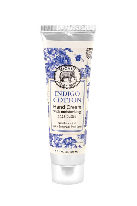 MICHEL DESIGN WORKS Hand Cream - Indigo Cotton - Magpie Style