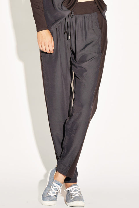 PAULA RYAN RELAXED Straight Leg Lounge Pant - Viscose Jersey - PAULA RYAN Relaxed - [product type] - Magpie Style