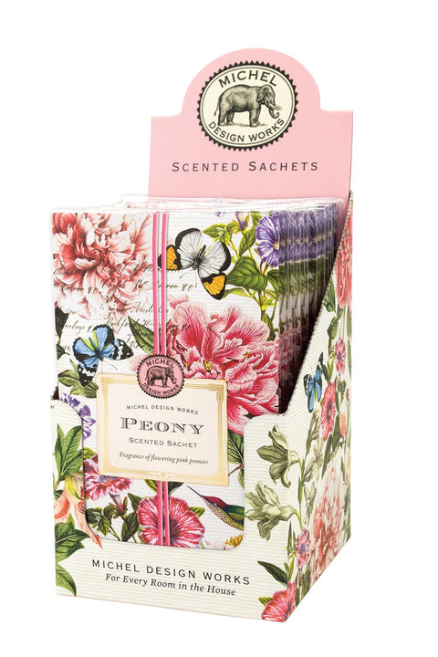 MICHEL DESIGN WORKS Scented Sachet - Peony - Magpie Style