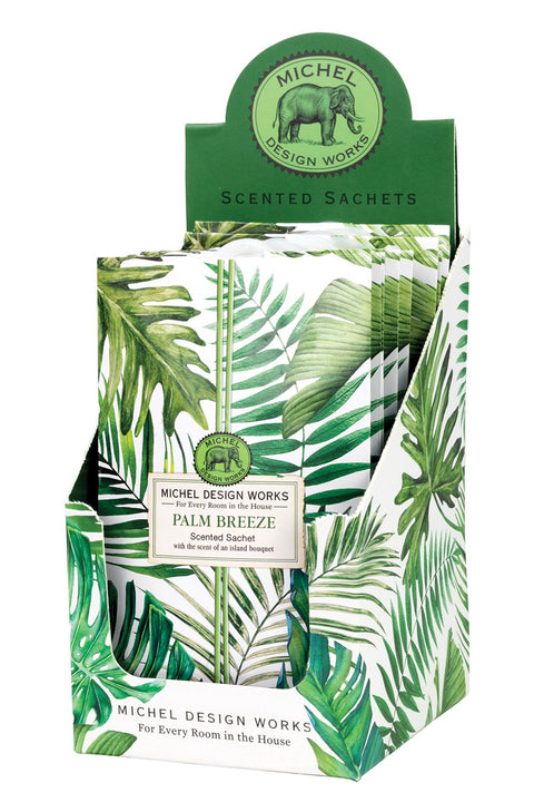 MICHEL DESIGN WORKS Scented Sachet - Palm Breeze - Magpie Style