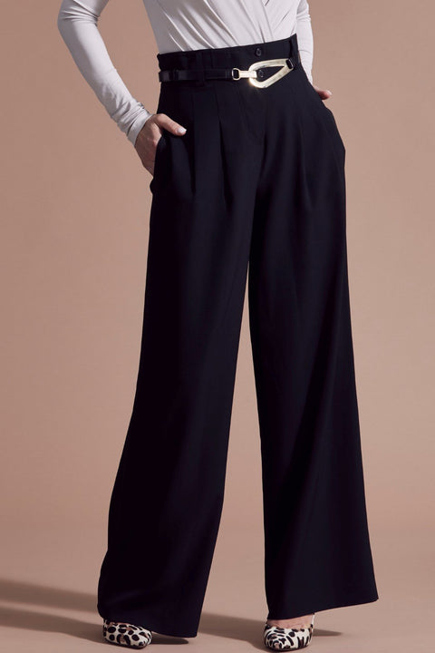 PAULA RYAN Tuxedo Pant - Paula Ryan Fashion Collection - [product type] - Magpie Style