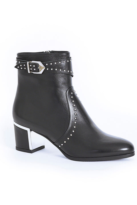 PAULA RYAN Stud Buckle Boot - Magpie Style