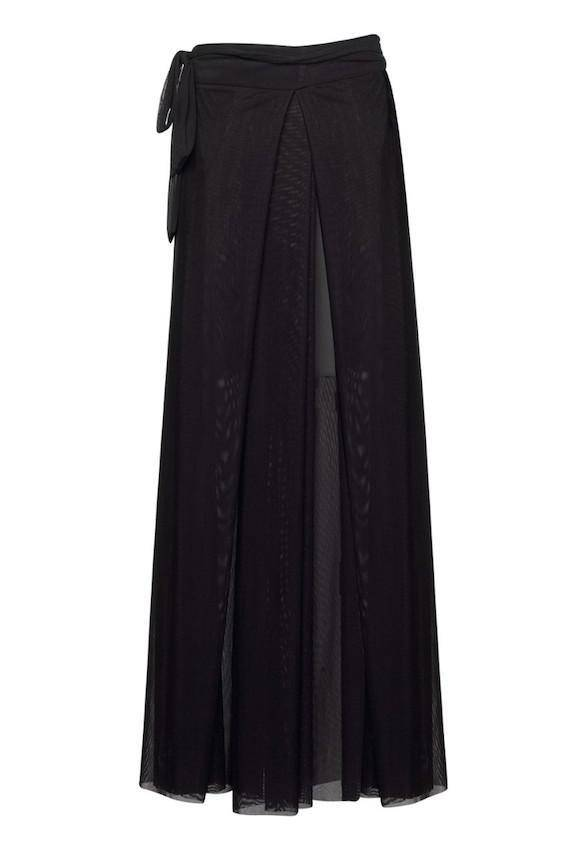Paula Ryan Swimwear - Fine Mesh Wrap Palazzo Pants - Paula Ryan Swimwear - [product type] - Magpie Style