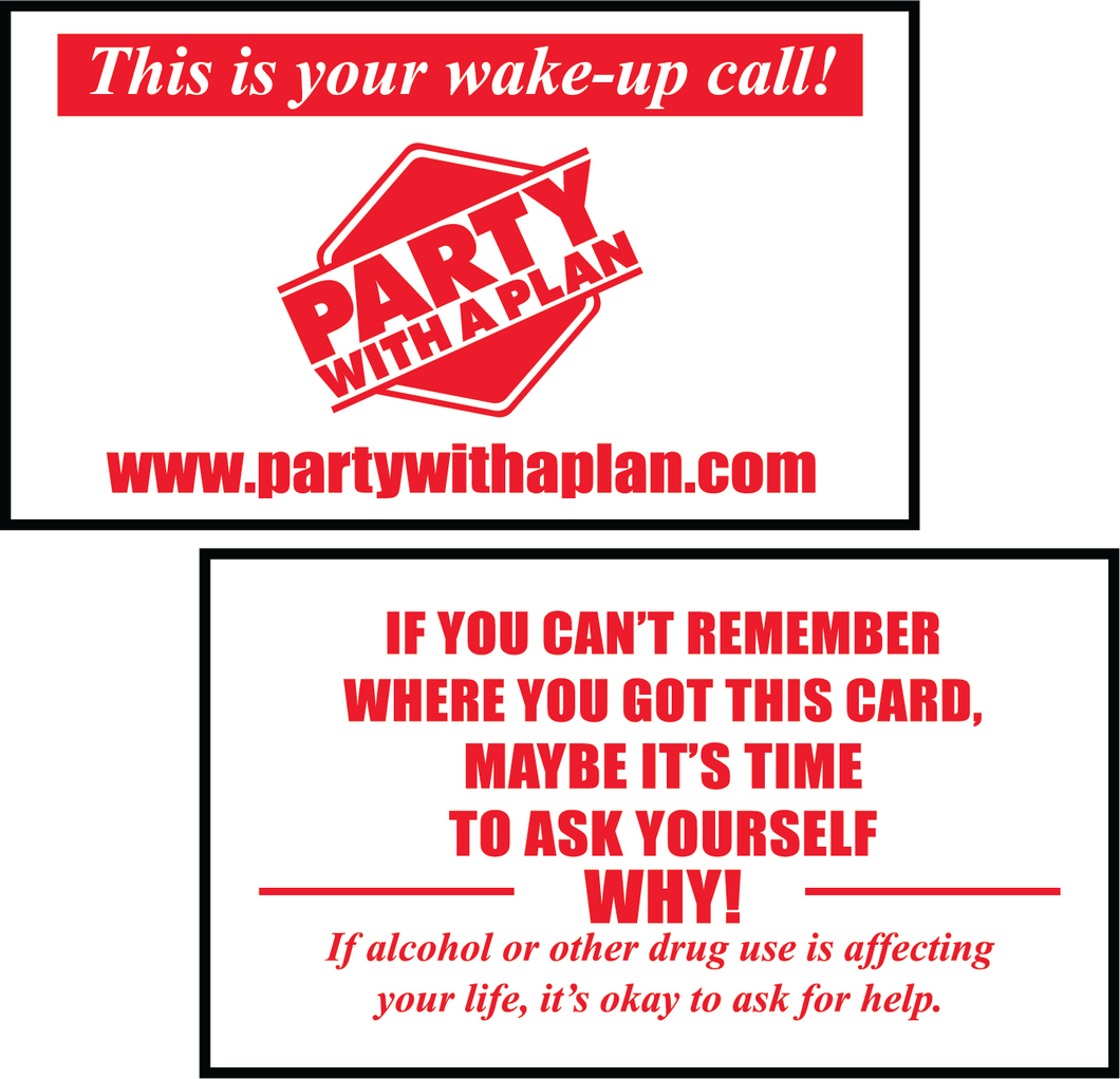 Wake-up Call Card 10pk