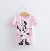 New Baby Girl's Hello Kitty or Minnie T-shirt Cotton Short-Sleeved