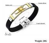 FASHION Men Charm Bracelet Scorpion Design Stainless Steel Bracelet