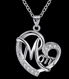 Mom Heart Pendant