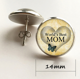 World's Best Mom Pendant Necklace