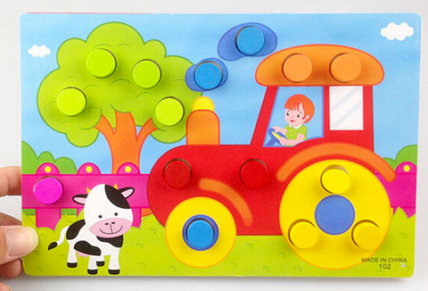 Wooden toys Puzzle Jigsaw