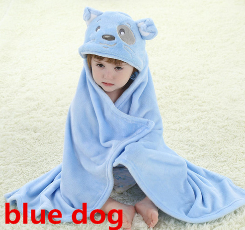 Animal Baby Bathrobe Baby Towel