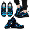 Seven Tribes Black/Blue Sneakers