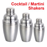 Bar Tools Wine Shaker Stainless Steel Martini Cocktail Shakers