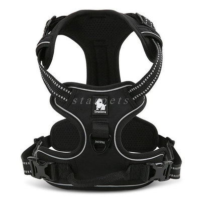 Reflective Dog Harness Vest With Handle