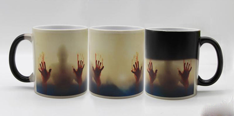 The Walking Dead Color Changing Ceramic Mug