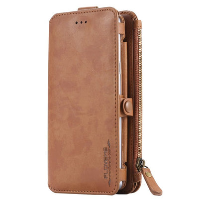 Leather Wallet Case For Samsung Galaxy S8 S7 S6 Edge Plus