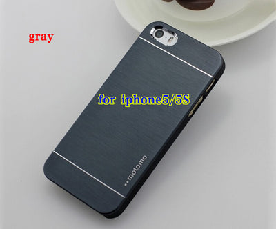 Luxury Hard Aluminum Metal Frame Case for Apple iPhone