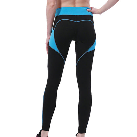 Heart Pattern Fitness Leggings
