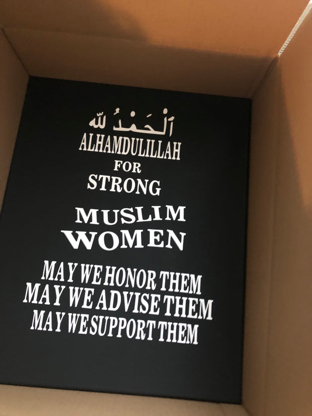 Strong Muslim women | Canvas