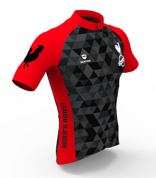 Rider's Roost - Red Kit Jersey - Women's