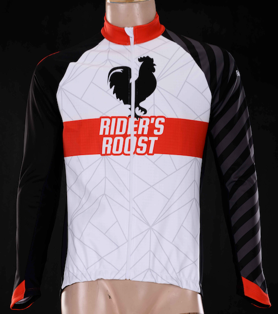 Rider's Roost - White Kit Jacket - Men's
