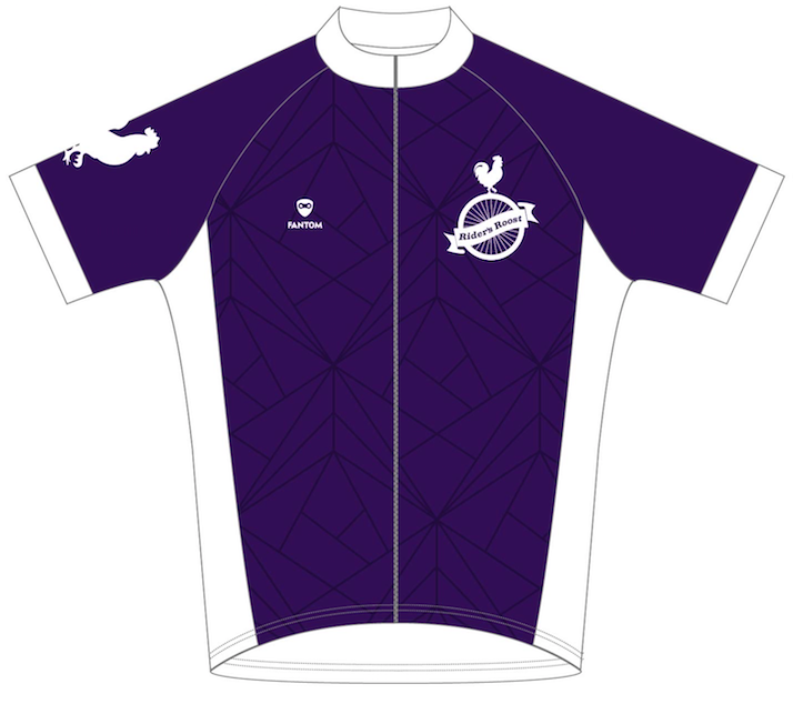 Rider's Roost - Ladies Kit Purple Jersey - Women's