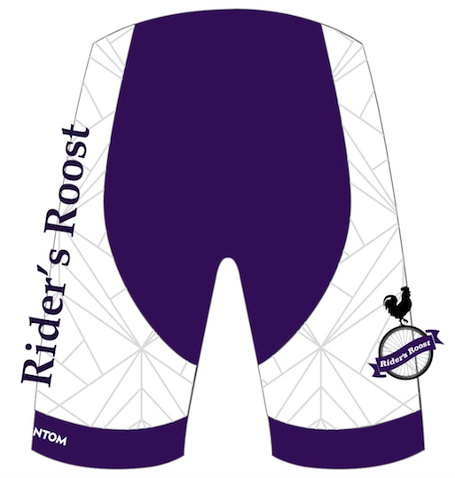 Copy of Rider's Roost - Ladies Kit Purple SHORTS - Women's