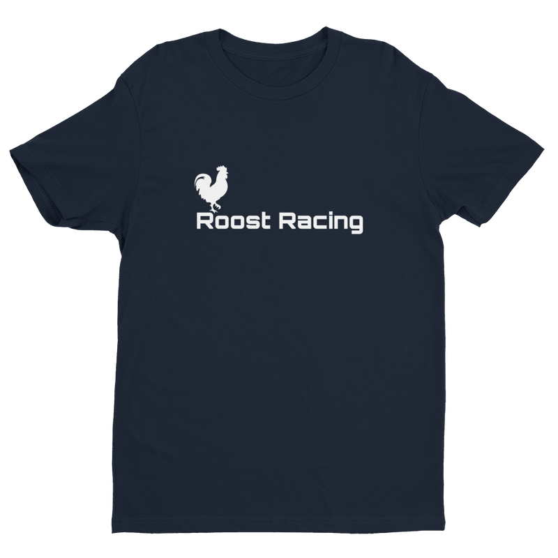 Roost Racing Men's Tee (White Logo)
