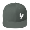 Rider's Roost Rooster Hat (White Logo)