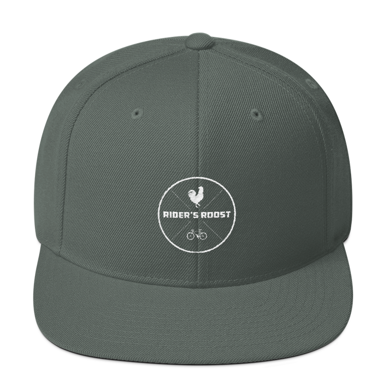 Riders Roost Emblem Hat (White Logo)