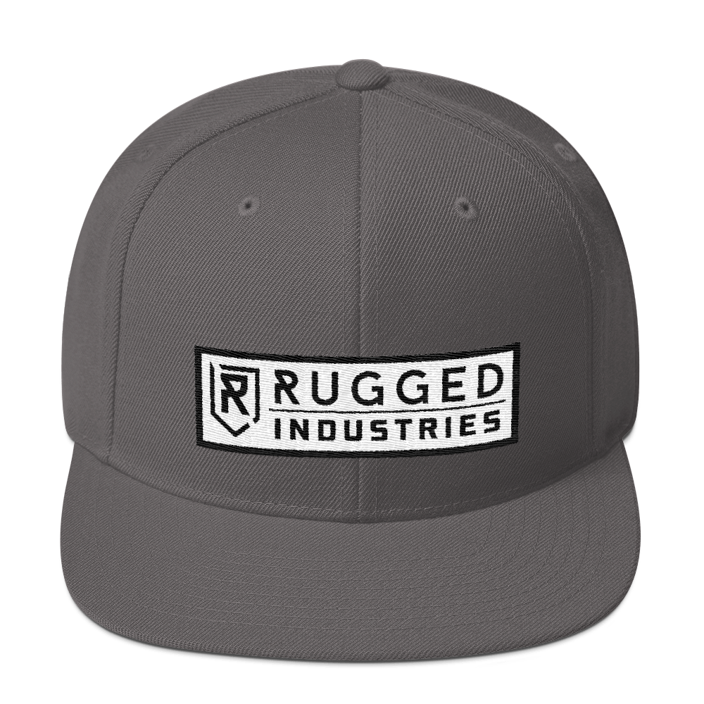 Rugged Snapback Hat