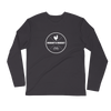 Rider's Roost Emblem Long Sleeve Fitted Crew