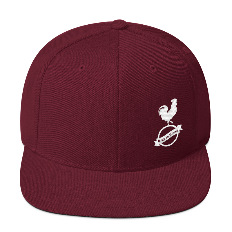 Riders Roost Classic Snapback (White Logo)