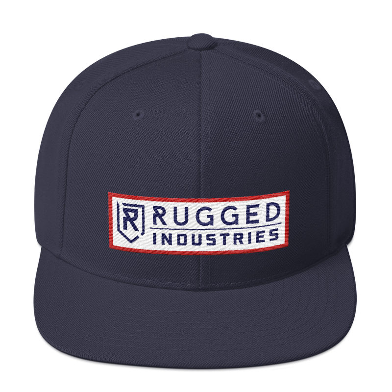 Rugged RB Snapback Hat