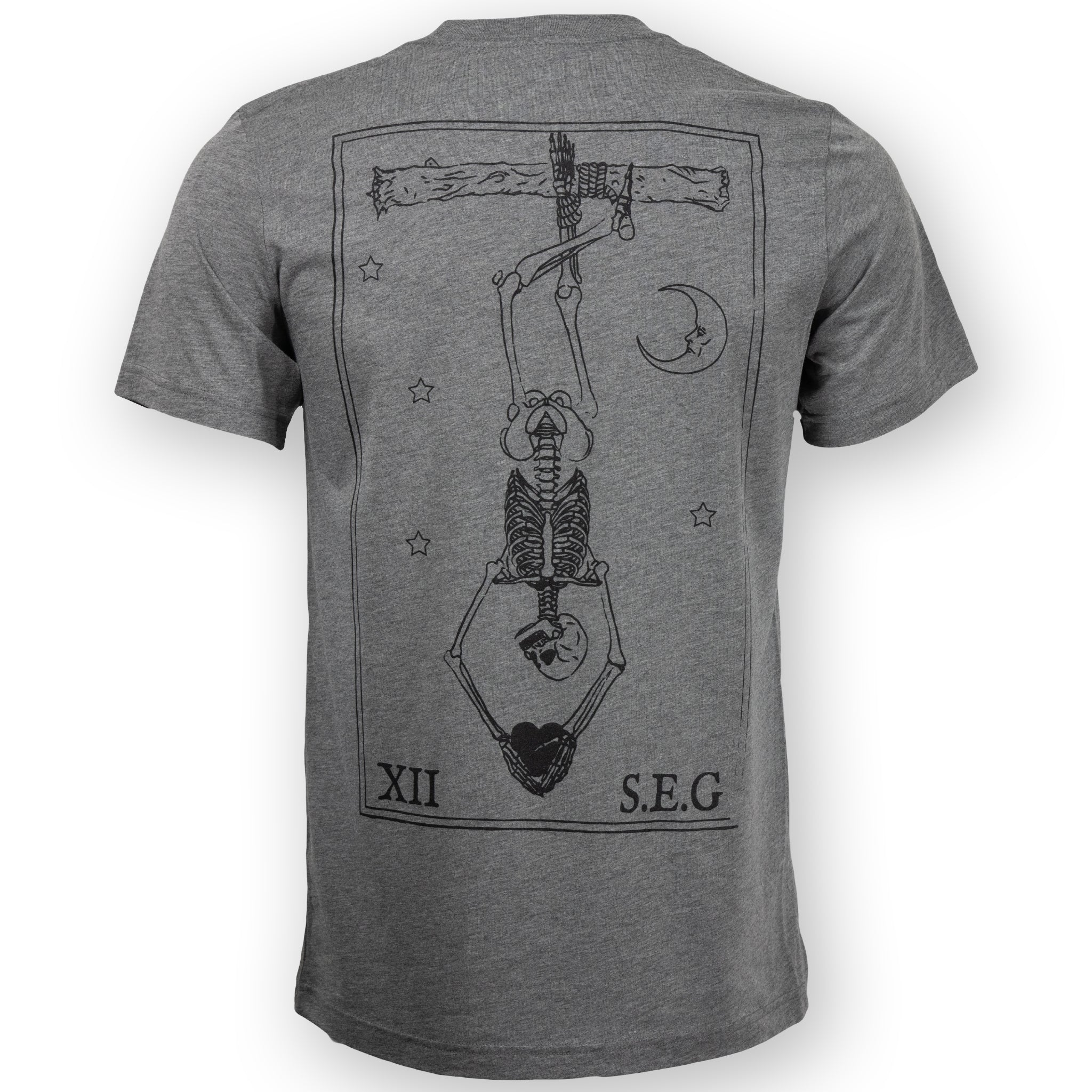 Grey Hanged Man T-Shirt
