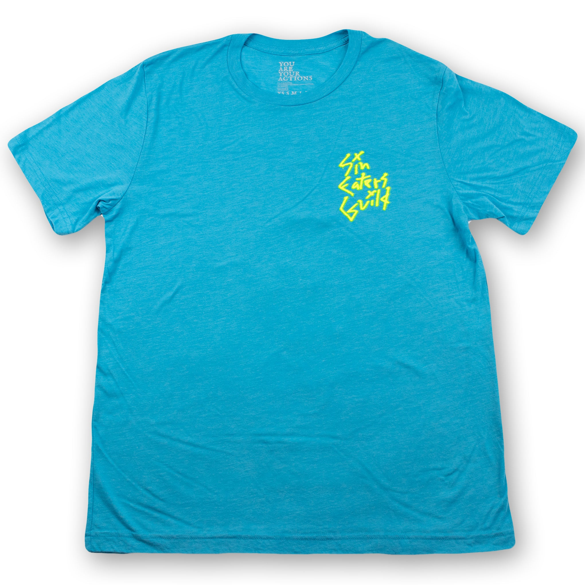 Aqua Graff Hanged Man T-Shirt