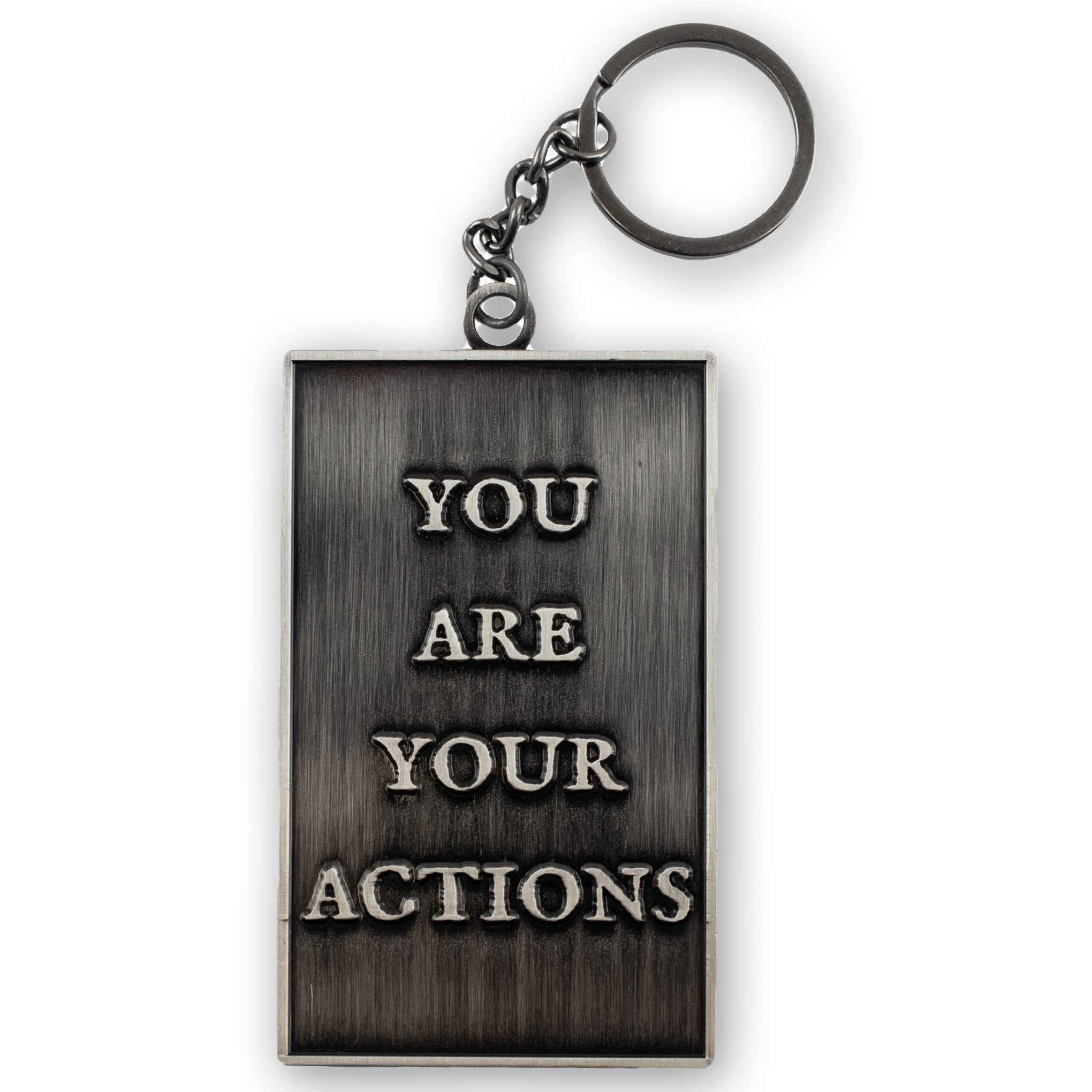 Hanged Man - You Are Your Actions Keyring
