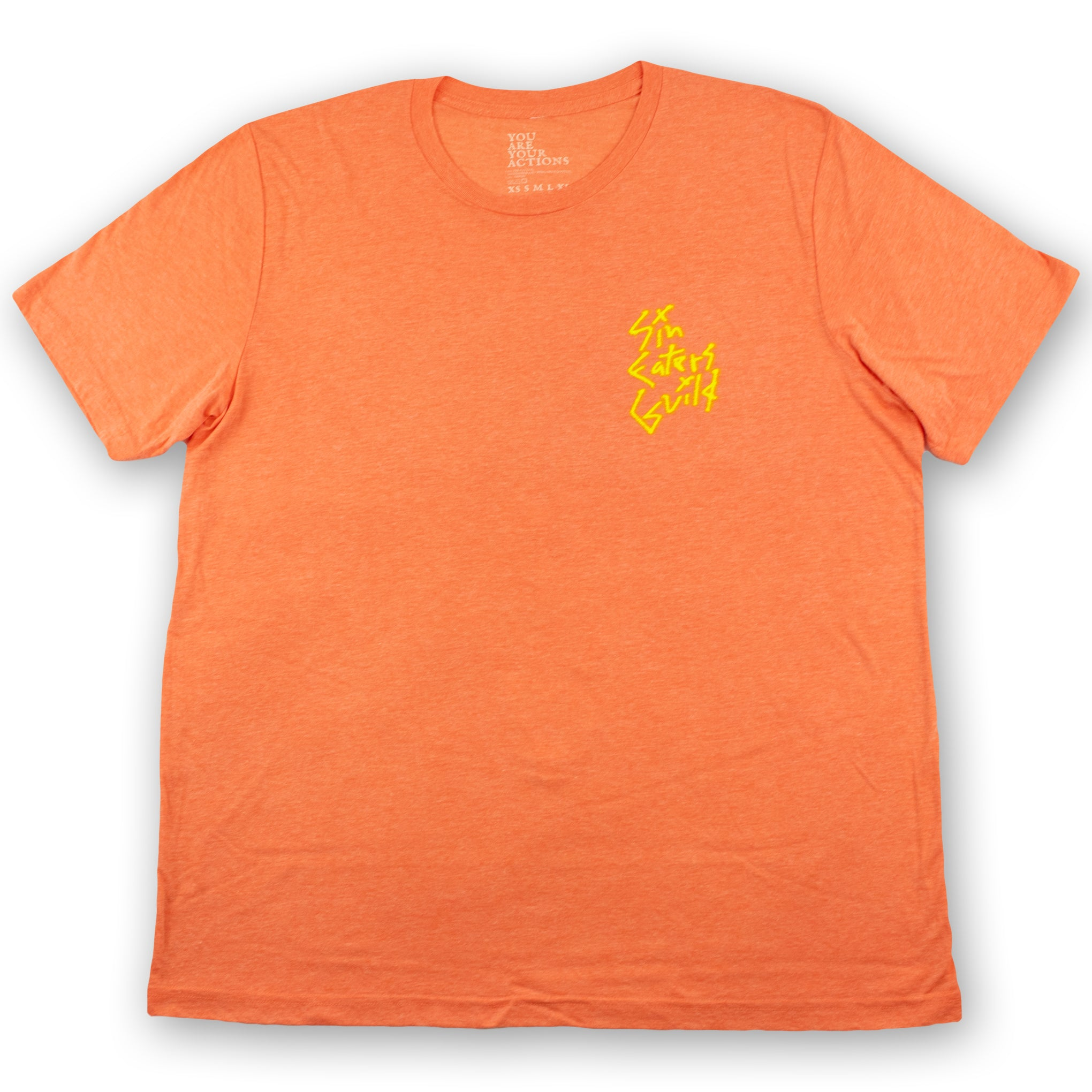 Orange Graff Hanged Man T-Shirt