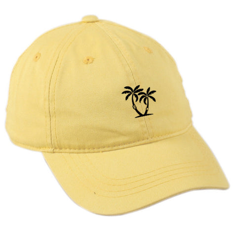 Island Dad Hat - Yellow