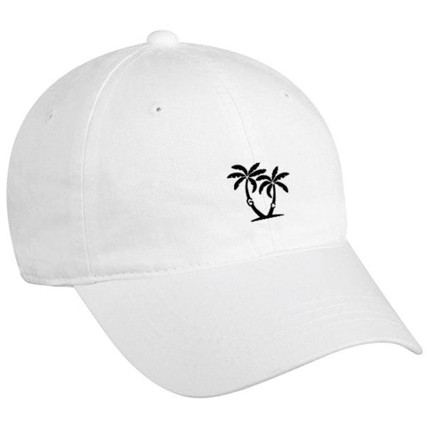 Island Dad Hat - White