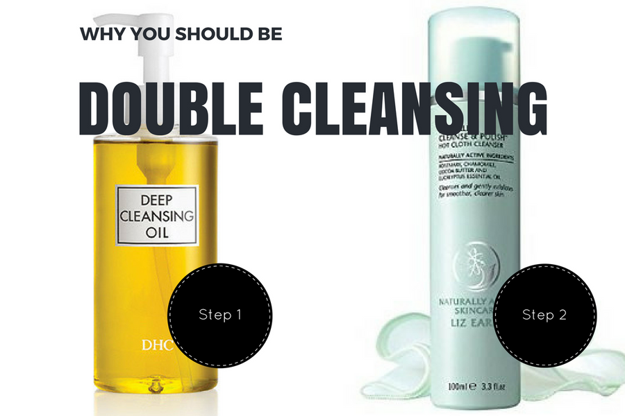 Why You Should Be Double Cleansing