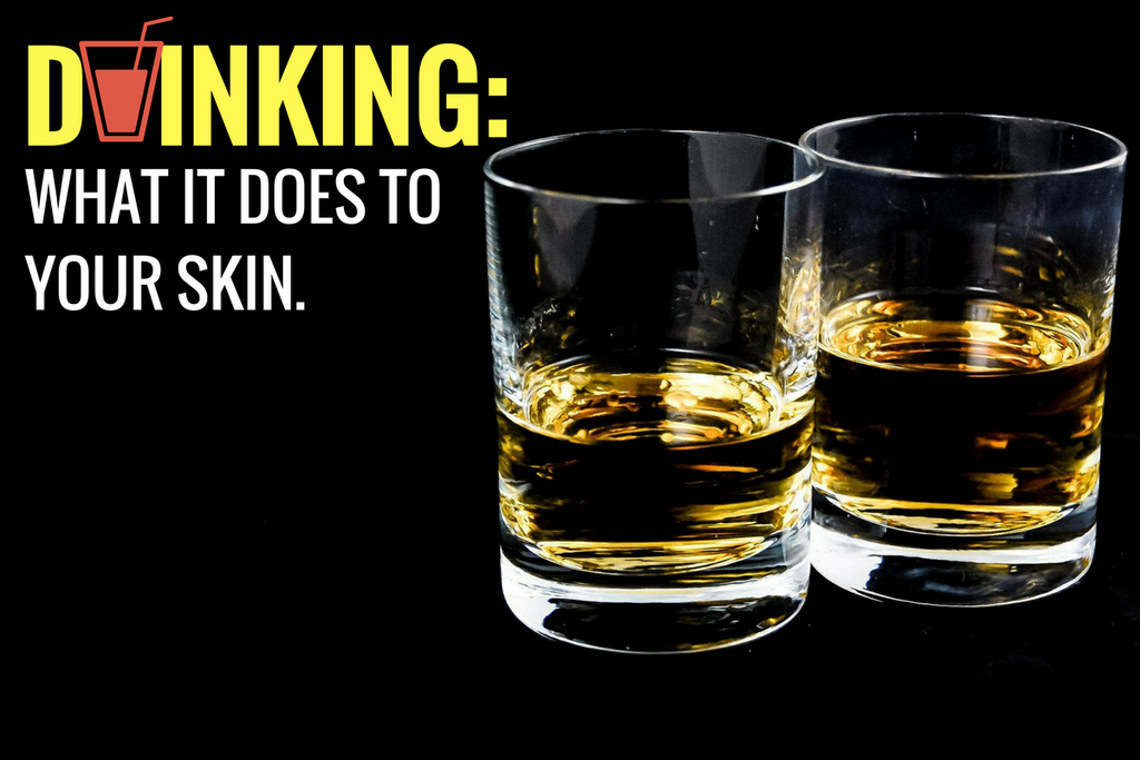 alcohol and its effect on skin
