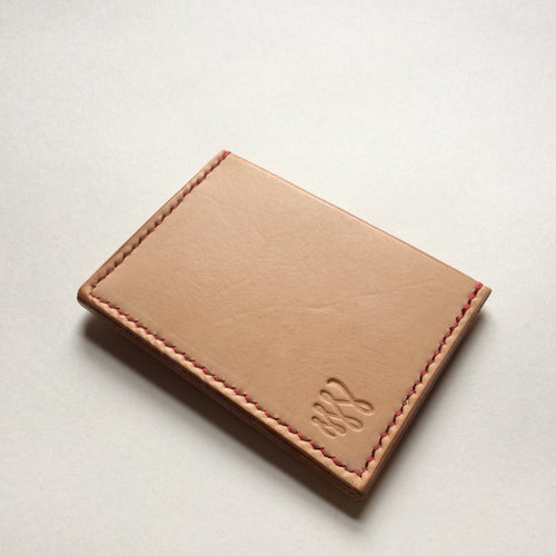 Card wallet - Natural