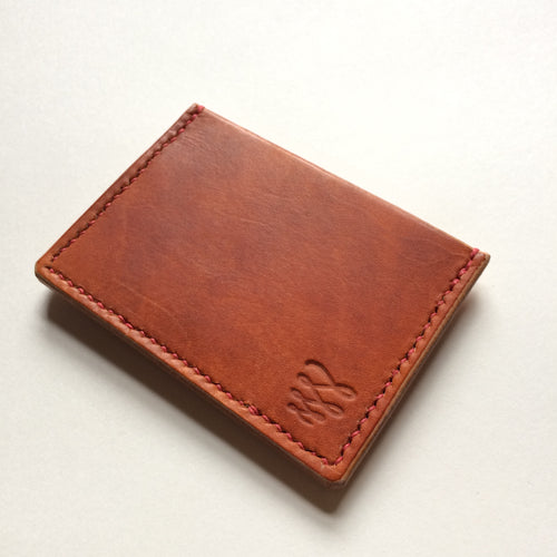 Card wallet - Tan