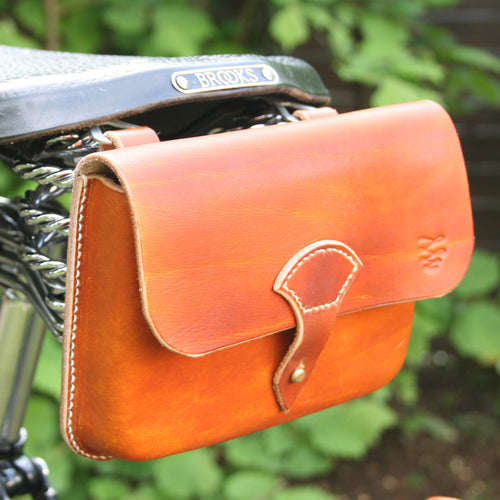 Moulded Saddle Bag