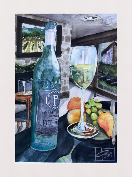 Art Workshop: Watercolour Magic and Wine | 27 Feb