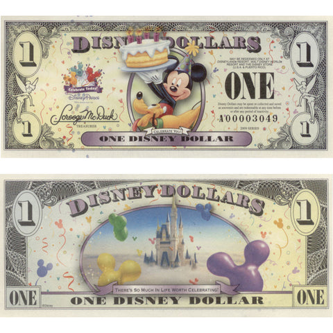 Disney Magic Box Product Reveal: Disney Dollars