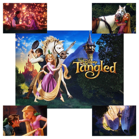 Magic Box Product Reveal: Tangled Lithograph Set