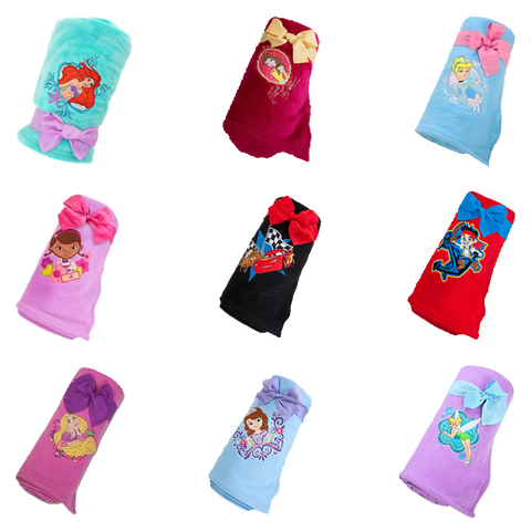 Disney Magic Box Product Reveal: Fleece Character Throw Blankets